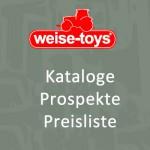 weise-toys Katalog Prospekt Preisliste - Neuheiten