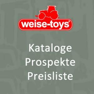 weise-toys Prospekt Preisliste Katalog