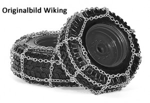 Wiking 7391 - Rädersatz mit Ketten Fendt 828