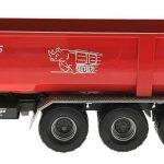 Wiking 7826 - Krampe Kipper Hakenlift THL 30 L mit Abrollcontainer Big Body 750