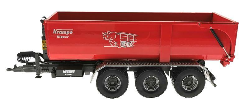 Wiking 7826 - Krampe Kipper Hakenlift THL 30 L mit Abrollcontaine Big Body 750
