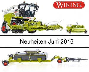 Wiking Neuheiten Juni 2016