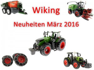 Wiking Neuheiten März 2016