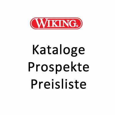 Wiking Prospekt Preisliste Katalog